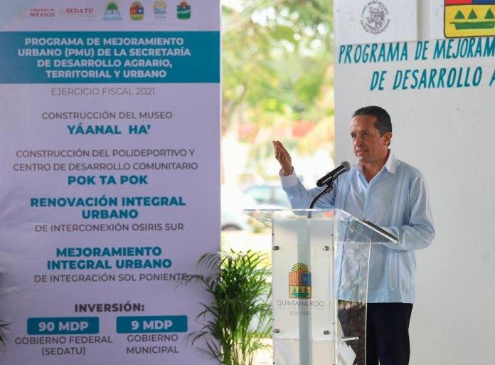 Mejoran imagen urbana en Tulum