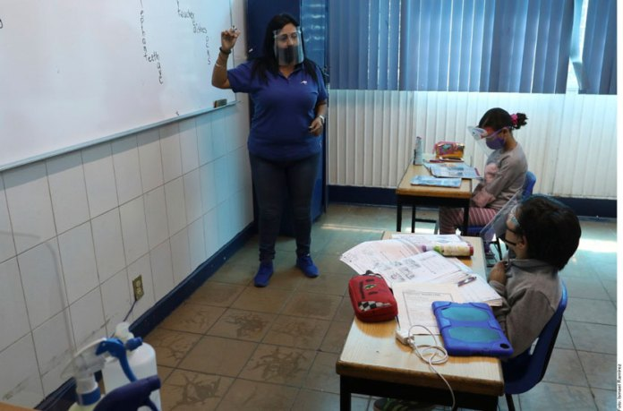 Regresan a las aulas en Jalisco