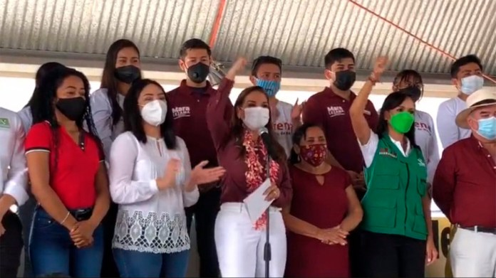 Quiere Mara continuar 'proceso de cambio' en Benito Juárez