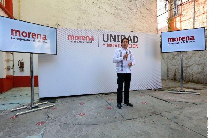 Que se vayan los corruptos, pide dirigente de Morena