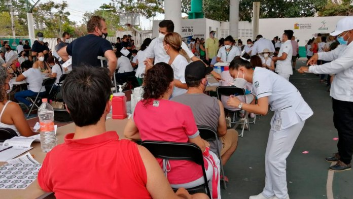 Retoman vacunación en Cancún a partir de este miércoles