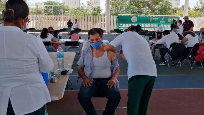 Notable mejoría en organización para vacunar
