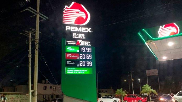 Analizarán disminuir gasolina en Chetumal