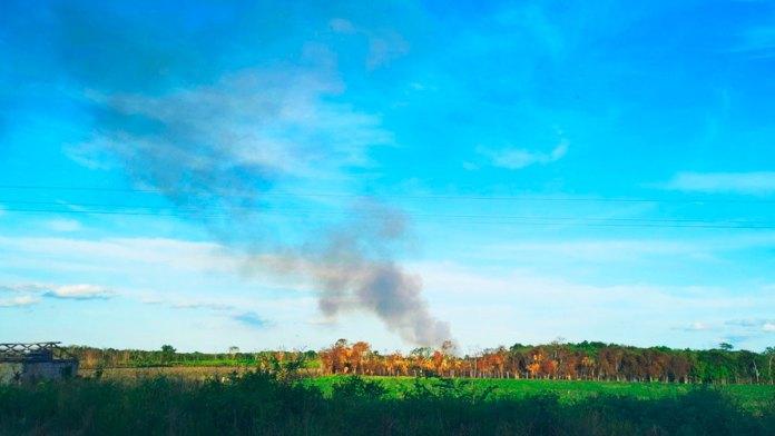 Suma Quintana Roo 23 incendios forestales en el año