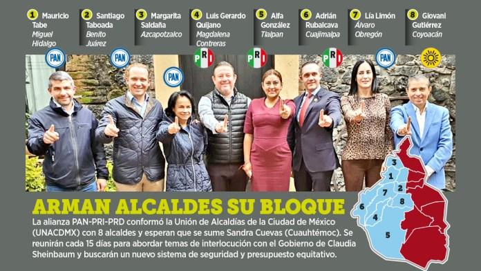 Integra Oposición Unión de Alcaldes
