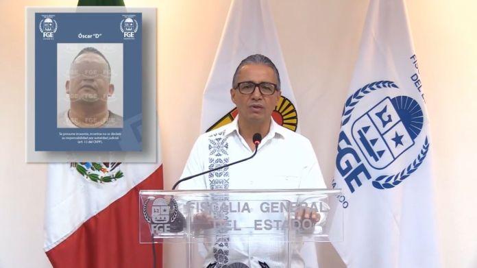 Detienen a presunto responsable del homicidio de Sánchez Cordero