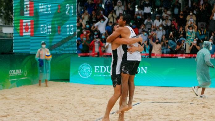 Logra México pase a Tokio en Voleibol de Playa