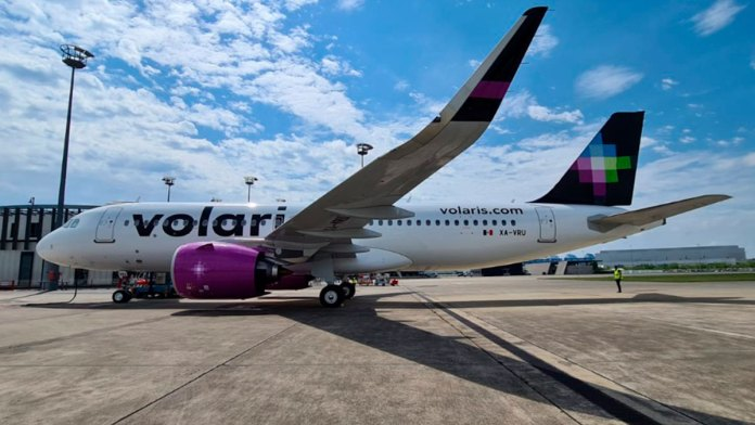 Tiene Volaris nuevo avión; aumentará frecuencia ruta CDMX-Cancún