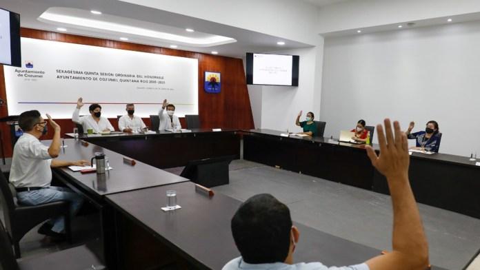 Avalan modificación al Plan de Desarrollo de Cozumel