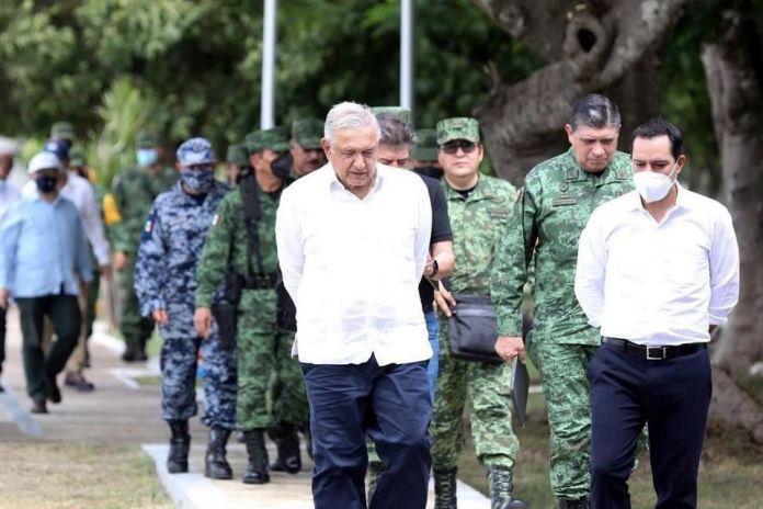 Supervisa AMLO Tren Maya en Yucatán y Campeche