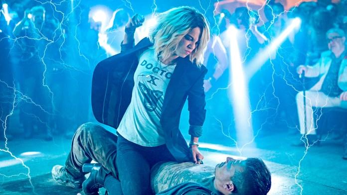 Kate Beckinsale abrazó su furia en 'Jolt'