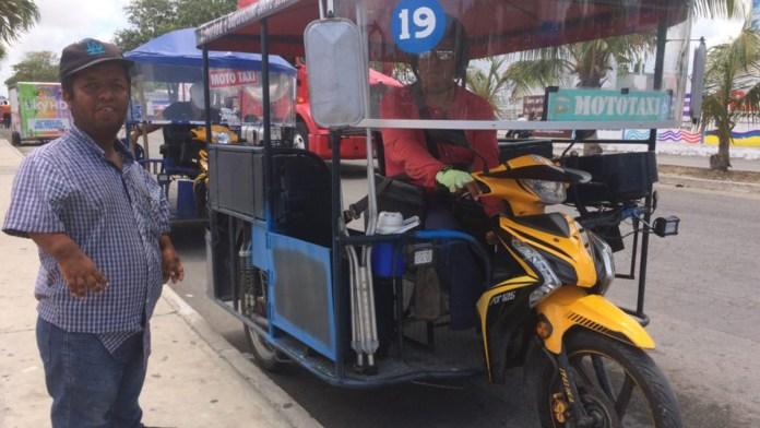 Buscan regular a los mototaxis