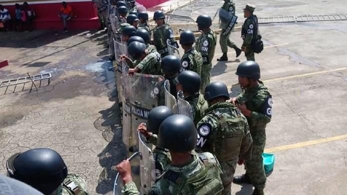 Sube despliegue militar en las fronteras