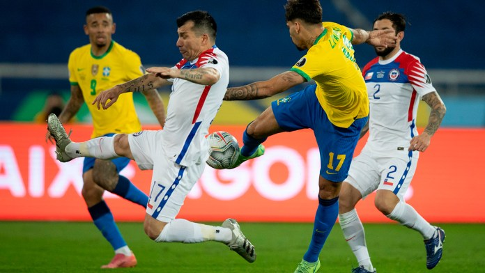 Llega Brasil como favorito ante Perú