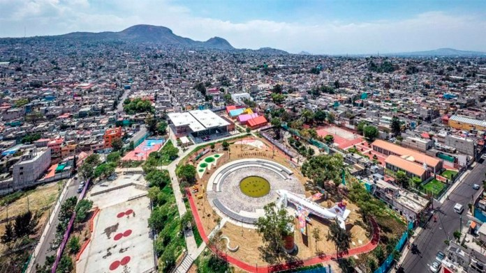 Inauguran espacio recreativo en Iztapalapa