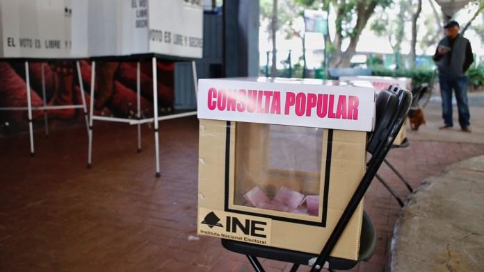 Fracasa consulta popular; vota el 7.7 por ciento