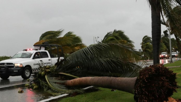 En 10 meses, tres huracanes