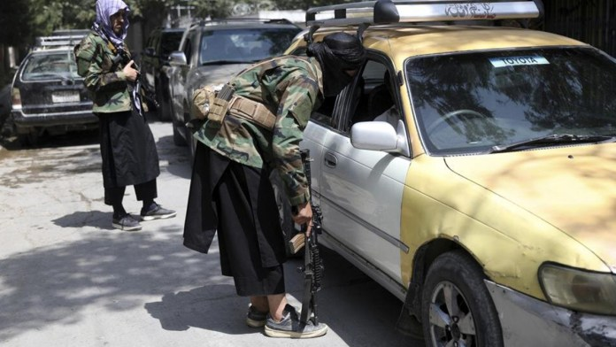 Crisis por evacuación de afganos en Kabul
