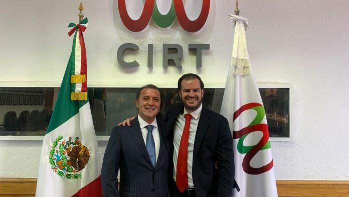 Designan a José Antonio García Herrera como nuevo presidente del Consejo Directivo de la CIRT
