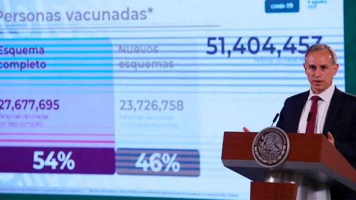 Mortalidad de niños es muy baja en tercera ola, dice López-Gatell