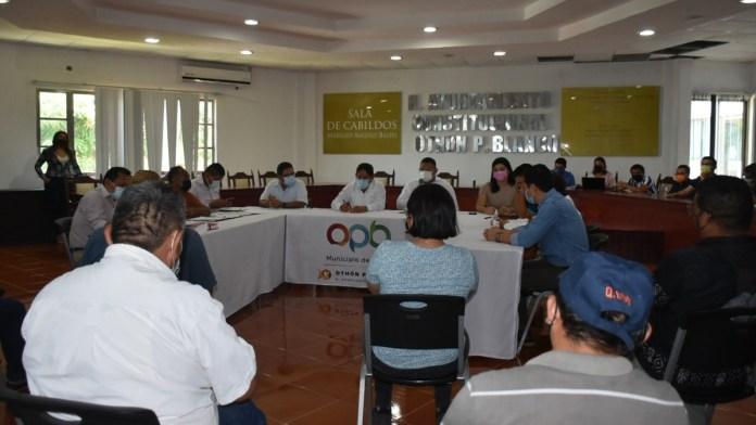 Concilian Ayuntamiento y sindicato de trabajadores en OPB