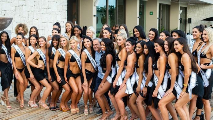 Candidatas a Miss Usa 2021 alistan detalles en Cancún