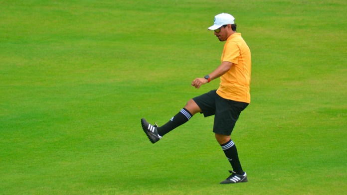 Gana Erick Sánchez Jornada 8 en la Liga de FootGolf