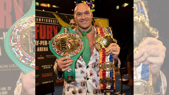 Ven lejana pelea entre Tyson Fury y Anthony Joshua