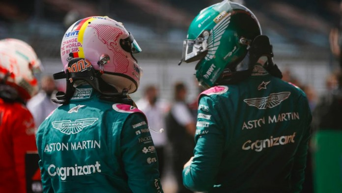 Renueva Aston Martin a pilotos Vettel y Stroll