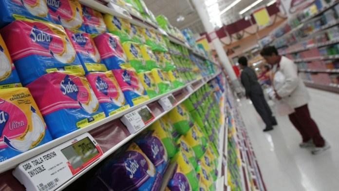 Proponen tasa cero a higiene menstrual