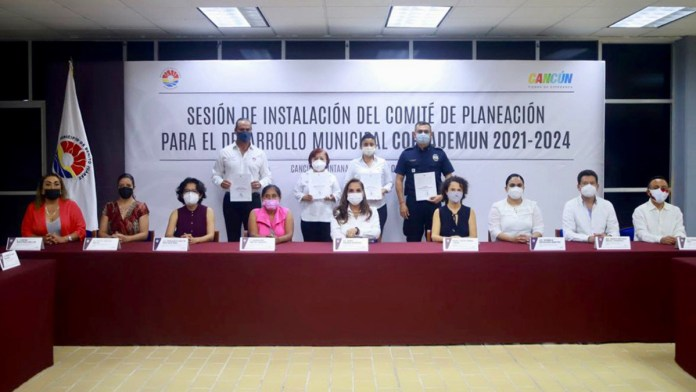Abren participación para formular el PMD de Benito Juárez