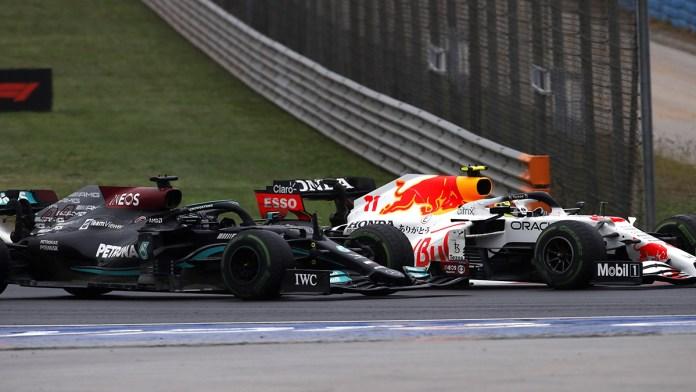 Acusan a Hamilton de empujar a Pérez