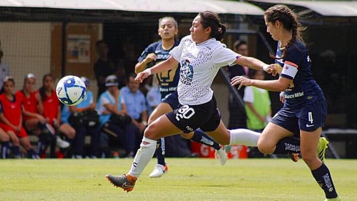 Supera Pachuca a Pumas en Liga Femenil