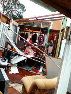 Families across Puerto Rico experienced home damage, an estimated $91 billion in damage to the island
