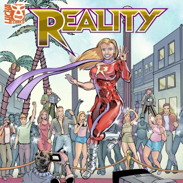 Lucha Comics - Reality - Thumbnail 600px