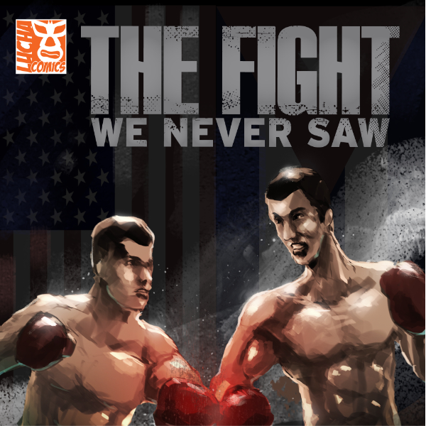 Lucha Comics - The Fight We Never Saw - 600px Thumbnail
