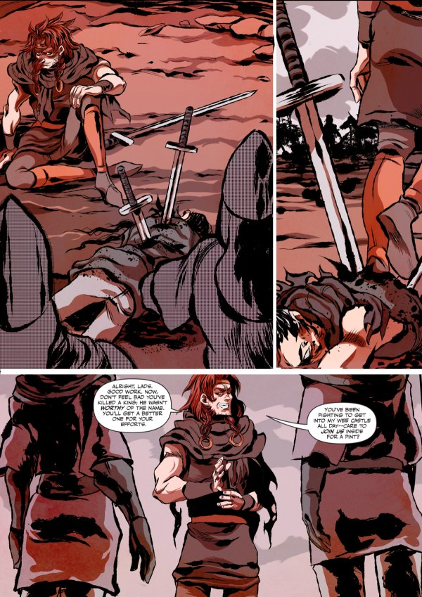 Macbeth: The Red King Preview Page 1