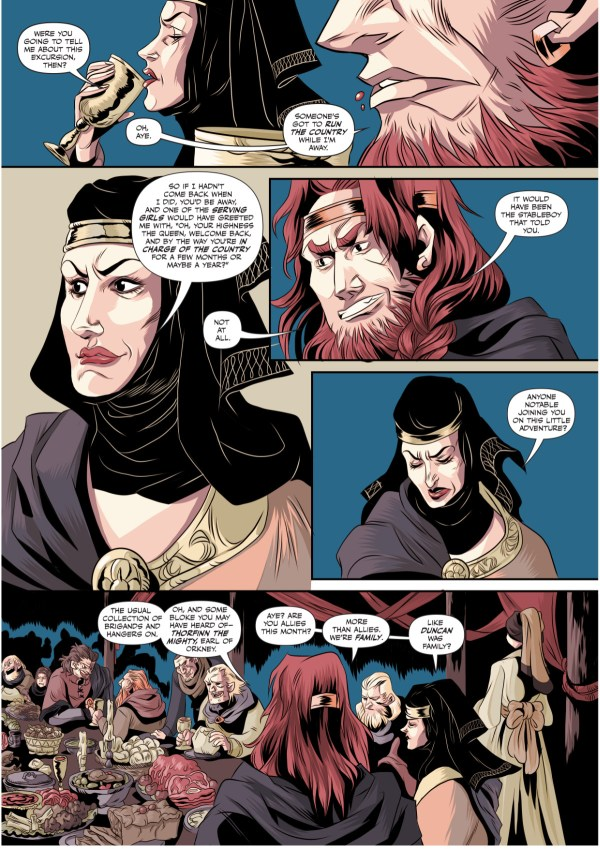 Macbeth: The Red King Preview Page 2