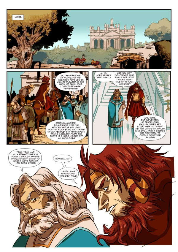 Macbeth: The Red King Preview Page 4