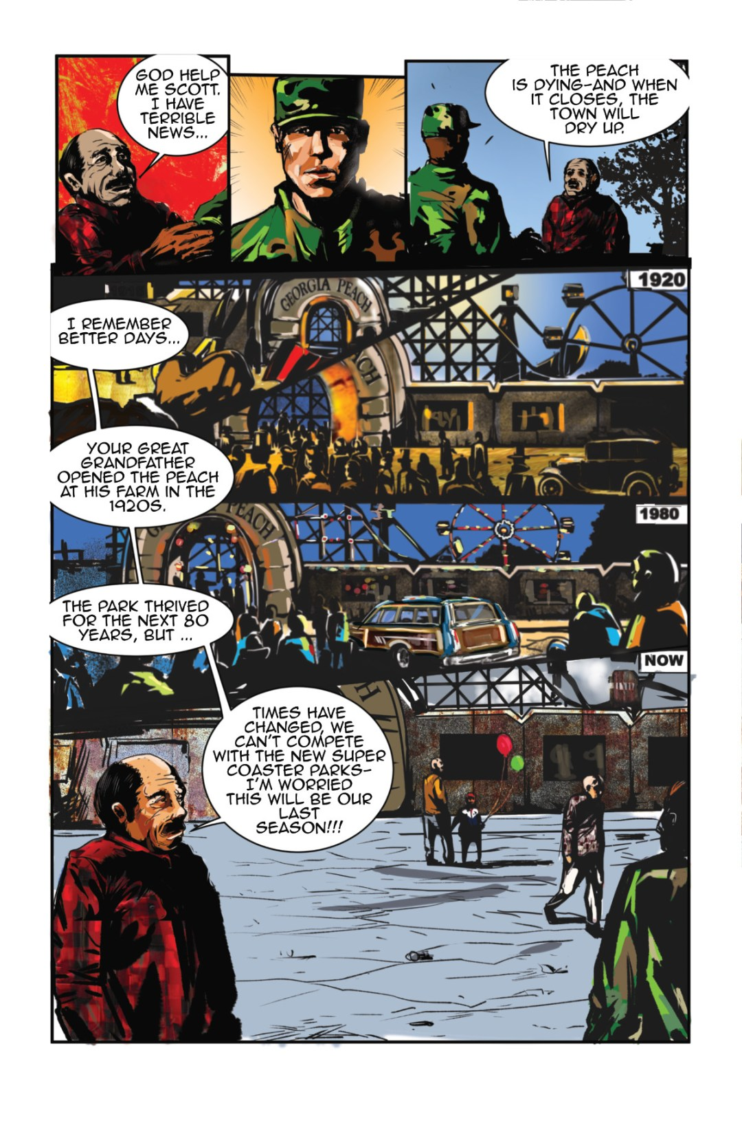 Thrill Rider Page 2 Preview