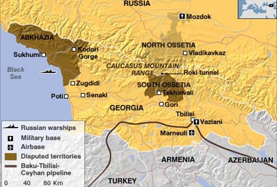 Guerra en Osetia del Sur – La única salida es una Federación Socialista del Cáucaso