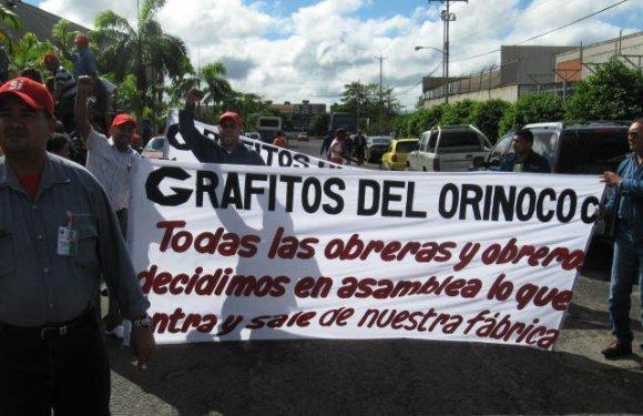Declaración de la Asamblea General de Trabajadores de Grafitos del Orinoco.