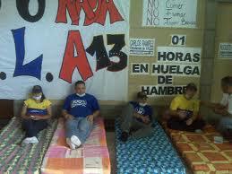 La huelga de hambre de los estudiantes escuálidos, su hipocresía, y el debate dentro del gobierno