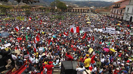 Perú: el conflicto en Cajamarca revela todos los límites del nacionalismo