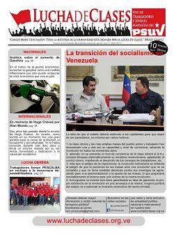 Adquiere ya el periódico Lucha de Clases nro 17 – La transición al socialismo en Venezuela: ¿qué hacer?