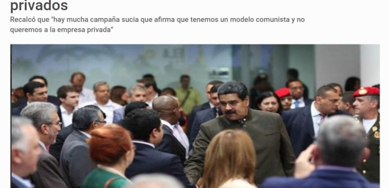 Expo Venezuela potencia: El gobierno ratifica su abandono del programa socialista