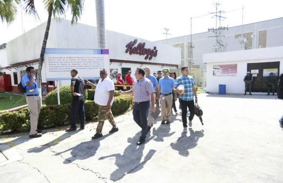 Aclaración de los trabajadores de Kellogg's en Aragua