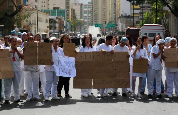 La lucha de las enfermeras es una lucha de clases
