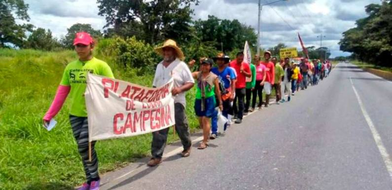 La Marcha Campesina Admirable y la lucha de clases en el campo