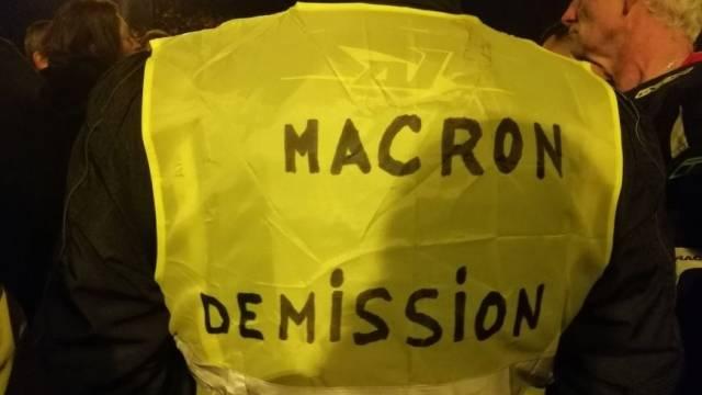 Francia: Los chalecos amarillos y cómo doblegar al gobierno Macron